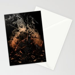 Arising after a fall Stationery Cards