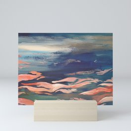 Coral Wave Mini Art Print