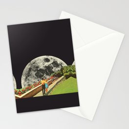 Moonwalk love Stationery Cards