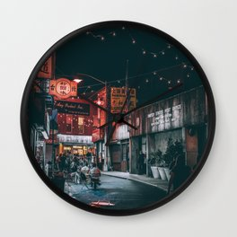 Chinatown Wall Clock