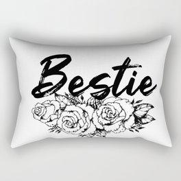 Bestie. Best friend gift. Sassy girls. Bff gift. Sorority girls Rectangular Pillow