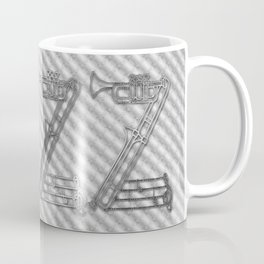 JAZZ SILVER MUSICAL INSTRUMENTS Coffee Mug