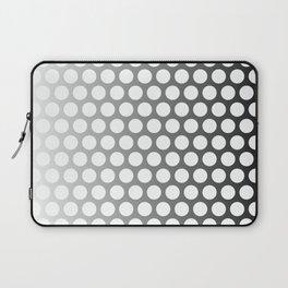 Dots - White Laptop Sleeve