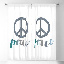 Peace- The symbol of peace Blackout Curtain