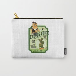 Cactus Juice Logo Carry-All Pouch