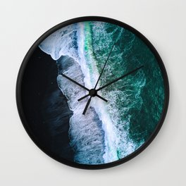 Sea 6 Wall Clock