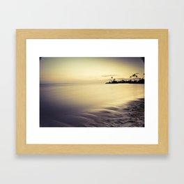 KahalaSunset Framed Art Print