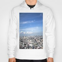 tokyo Hoodies featuring tokyo by signe constable