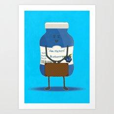 Jam packed Art Print