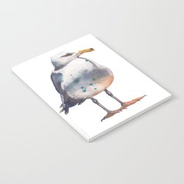 Seagull print Notebook