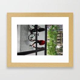 Mirror Town Framed Art Print