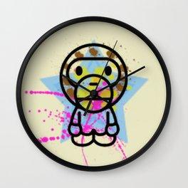 Bathing Ape Splash Wall Clock