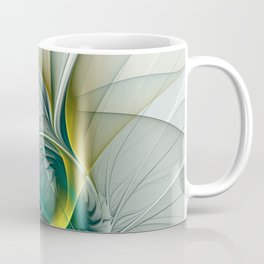 Fractal Evolution, Abstract Art Graphic Coffee Mug