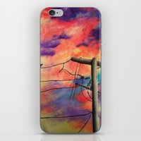 lonely iPhone & iPod Skins featuring Lonely by Erin Keating