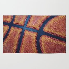 Basketball close-up Rug
