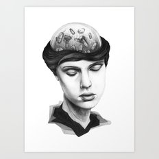 ME DA VERGÜENZA SER FELIZ #1 Art Print