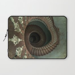 Ornamented spiral staircase Laptop Sleeve