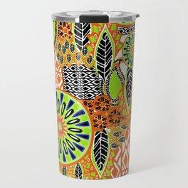 Tribal Patchwork Travel Mug
