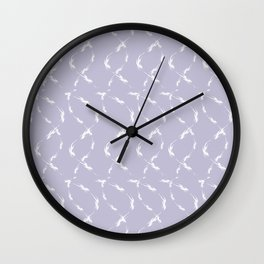 Dancing flames #2 Wall Clock