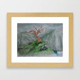 Hills of Scotland Framed Art Print