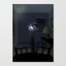 l'Uomo Nero Canvas Print