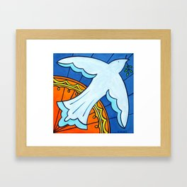 Peace Rising II Framed Art Print