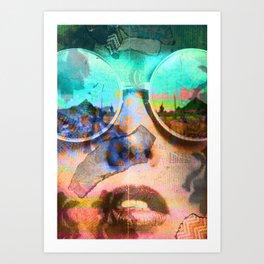 Loose Lips Art Print