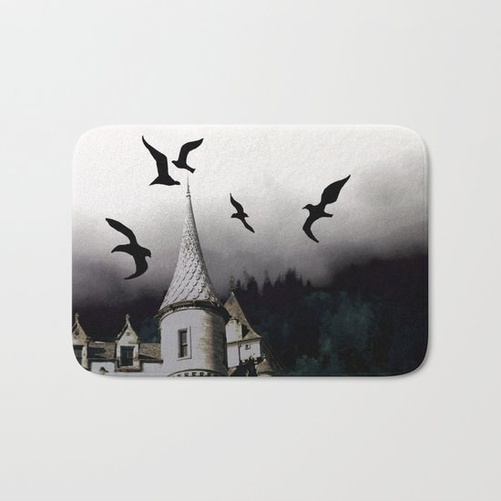 The house of Nevermore Bath Mat