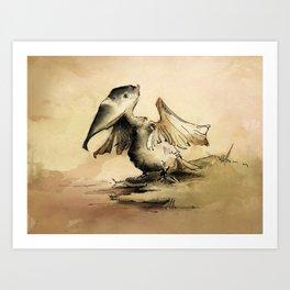 Pelican (Aus series) Art Print