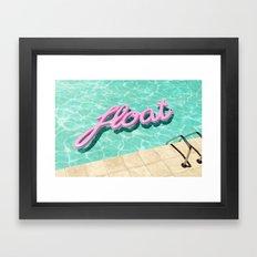 Summer Vibes (Float-1) Framed Art Print