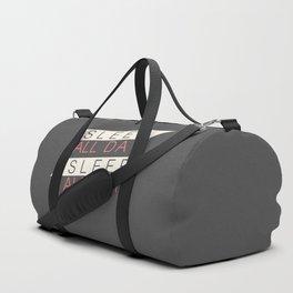 Sleep All Day Everyday Duffle Bag