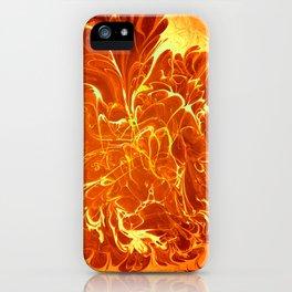 Neural Flames iPhone Case