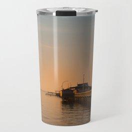 Sun Sets on Fairhope Travel Mug
