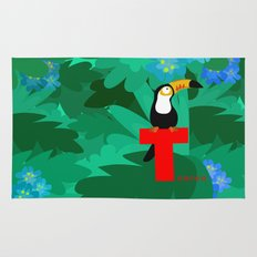 t for toucan Rug
