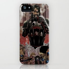 """The Walking Dead """"I Want You Dead"""" Governor iPhone Case"""