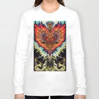 third eye Long Sleeve T-shirts featuring Third Eye by FractalFox