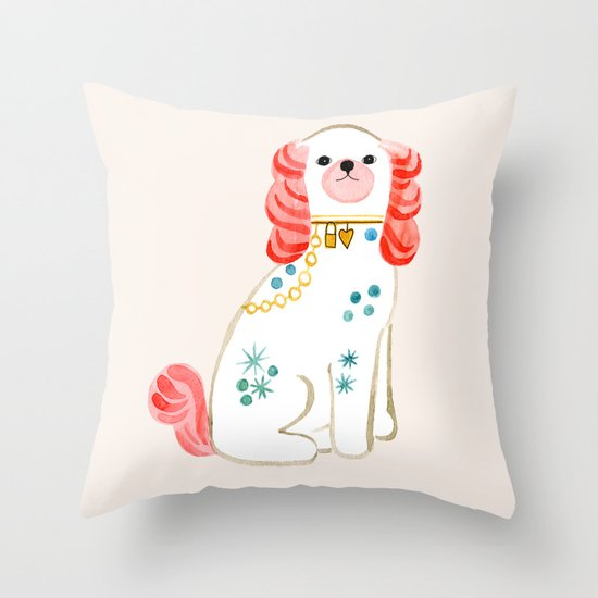 Spaniel Throw Pillow