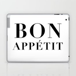 bon appétit Laptop & iPad Skin