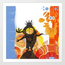 Saharan Elf Art Print