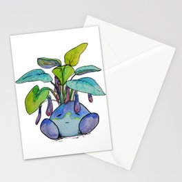 Eggplant Boi Stationery Cards