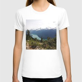 Turquoise gem of mountains - Cheakamus Lake T-shirt