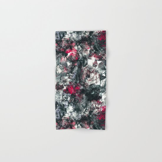 ABSTRACT FLORAL RPE Hand & Bath Towel