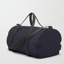Bananas Pattern Dark Duffle Bag