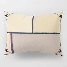 Toned Down - line graphic Pillow Sham