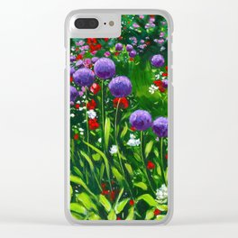"""Spring Dance"" Clear iPhone Case"