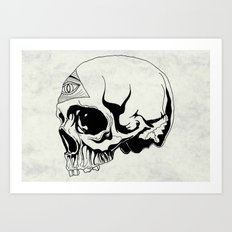 I've got an eye on you (black) Art Print