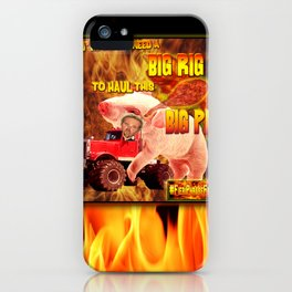 Guy Fieri in his Big Rig iPhone Case