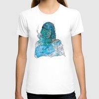 mia wallace T-shirts featuring Mia  by Albert F. Montoya