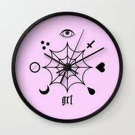 GCT Pink Wall Clock