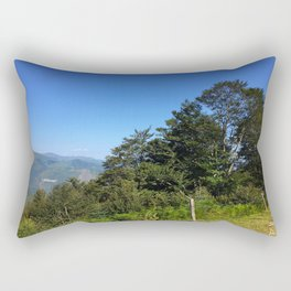 Pyrenean trees Rectangular Pillow